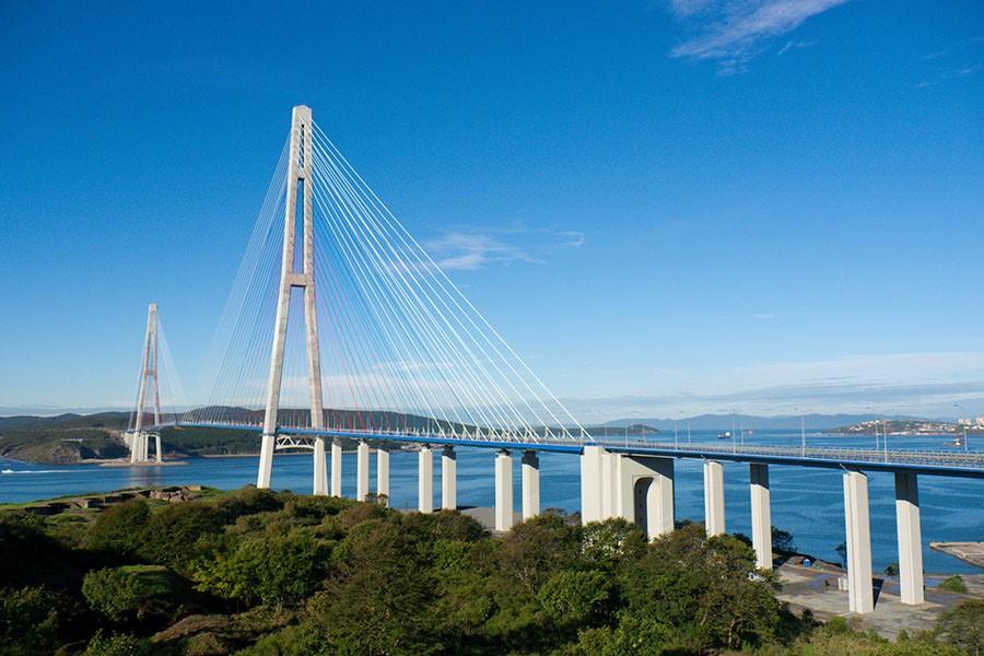 Русский мост, Владивосток
